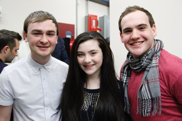Nathan Lodge, Lilla Crawford, Jordan Langford Photo