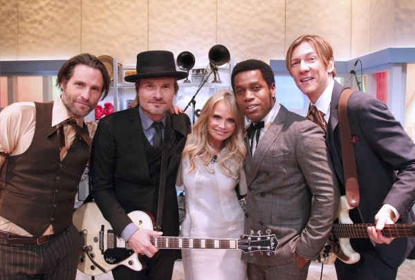 THE VIEW - Whoopi returns today, Tuesday, January 20, 2015 with guest co-host Regina Hall; House band, Vintage Trouble.  Guests include Kristin Chenoweth and Judith Light on ABC''s ''The View.''   ''The View'' airs Monday-Friday (11:00 am-12:00 pm, ET) on