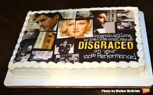 Photo Coverage: DISGRACED Celebrates 100th Performance on Broadway!
