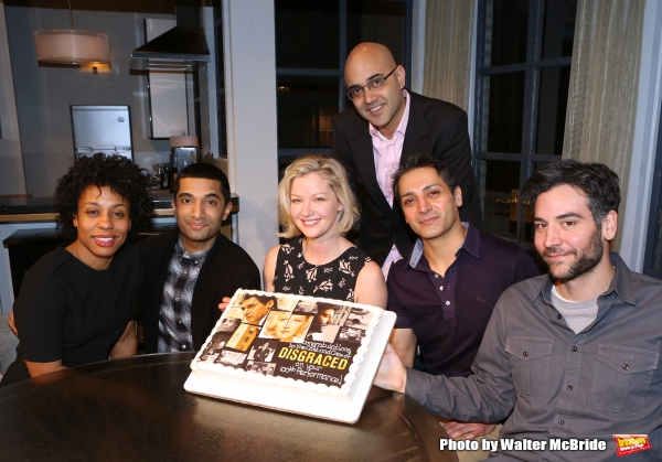 Karen Pittman, Danny Ashok, Gretchen Mol, playwright Ayad Akhtar, Hari Dhillon and Jo Photo