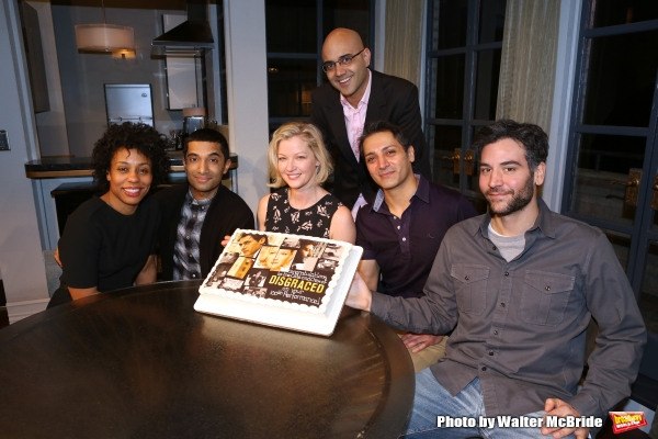 Karen Pittman, Danny Ashok, Gretchen Mol, playwright Ayad Akhtar, Hari Dhillon and Josh Radnor