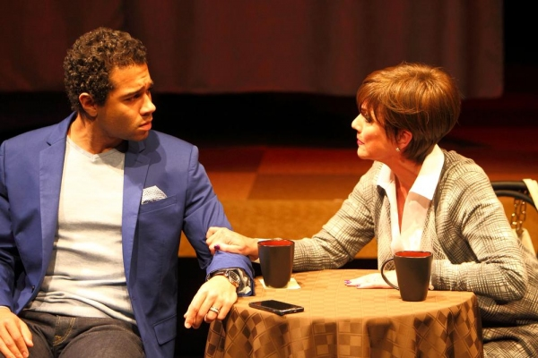 Corbin Bleu and Colleen Zenk
