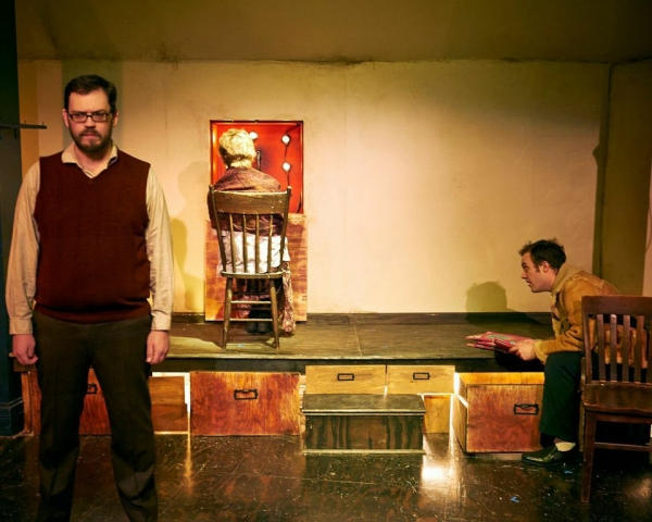 Photo Flash: First Look at Steep Theatre's THE LIFE AND SORT OF DEATH OF ERIC ARGYLE