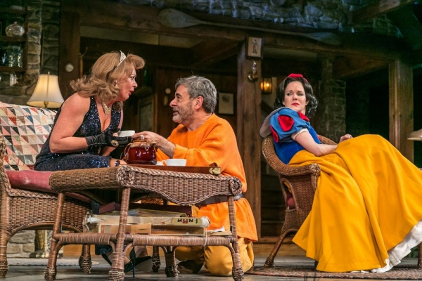 Michele Pawk (Sonia), Mark Nelson (Vanya) and Carolyn McCormick (Masha)