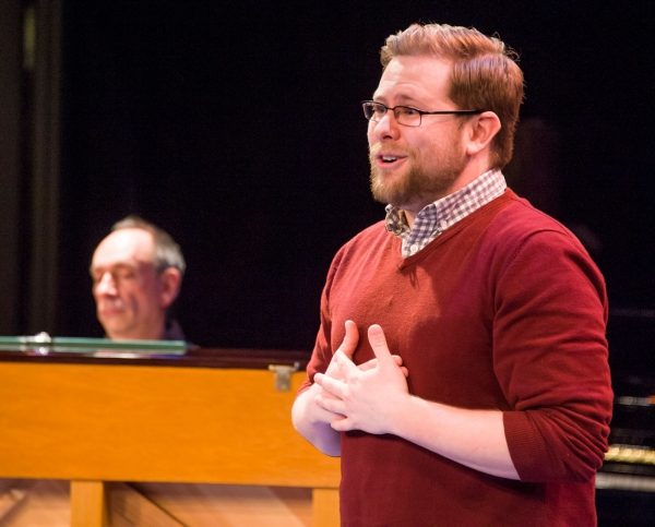 Senior Sean Jones performed 'I'm Just a Small Town Boy' during the master class.