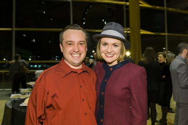 Cast members Michael Glenn and Jane Pfitsch