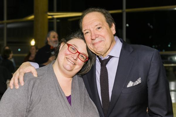 Director Amanda Dehnert and playwright Ken Ludwig  Photo