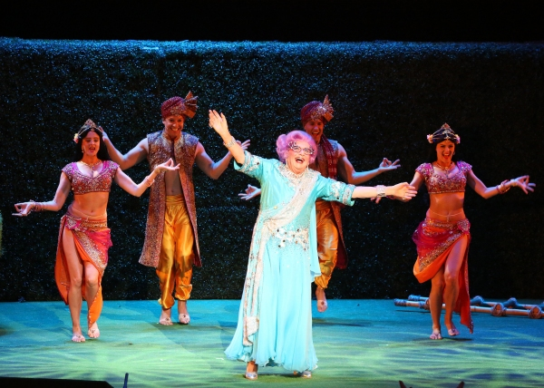 Dame Edna in the Australia/New Zealand tour of 'Eat Pray Laugh! Barry Humphries' Fare Photo