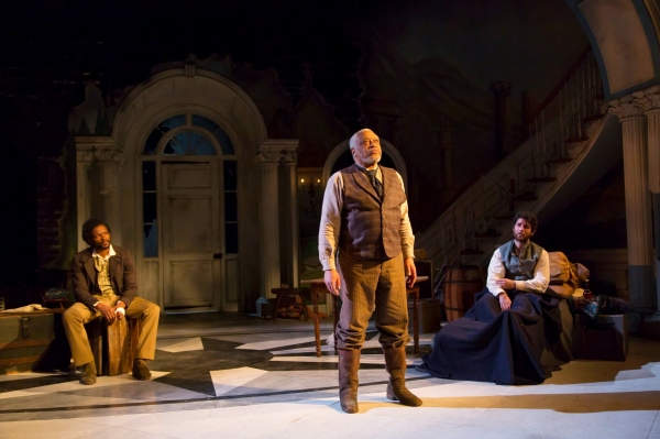 Photo Flash: First Look at George Street Playhouse's THE WHIPPING MAN, Opening Tonight
