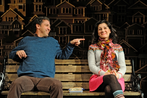 Mauro Hantman as John Dodge and Angela Brazil as Mrs. Swanson