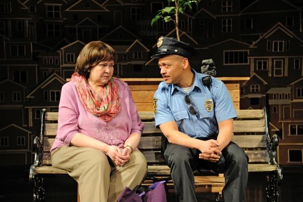 Janice Duclos as Librarian and Joe Wilson, Jr. as Cop
