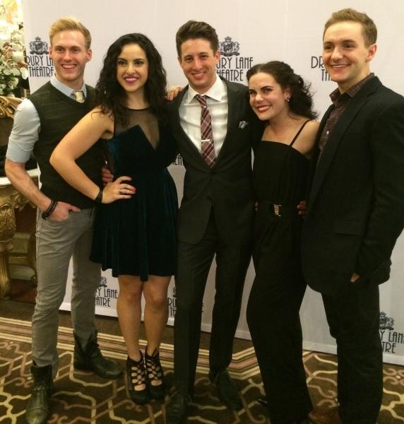 Cameron Edris, Lauren Villegas, Rhett Guter, Emma Rosenthal and Ryan Fitzgerald