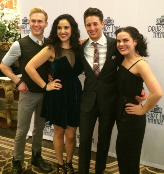 Cameron Edris, Lauren Villegas, Rhett Guter and Emma Rosenthal