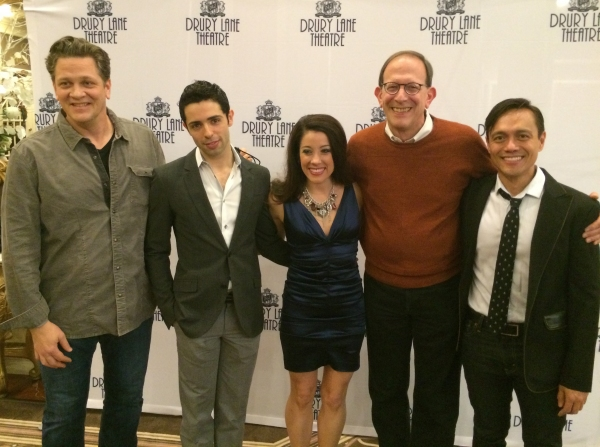 John Gray, Lucas Segovia, Courtney Cerny, Larry Baldacci and Chip Payos