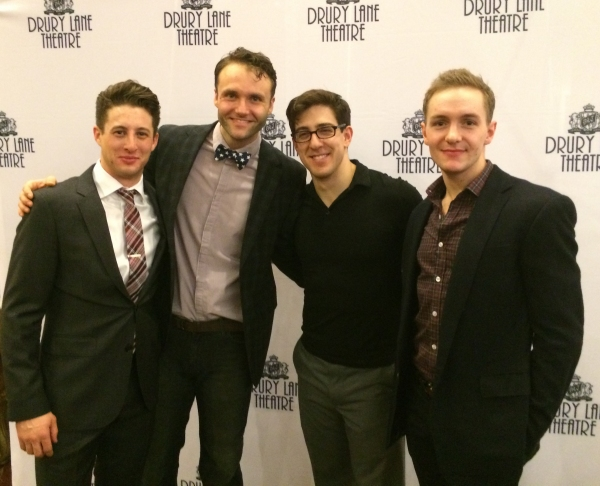 Rhett Guter, Carl Draper, Adrian Aguilar and Ryan Fitzerald