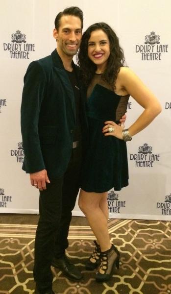Todd Rhoades and Lauren Villegas