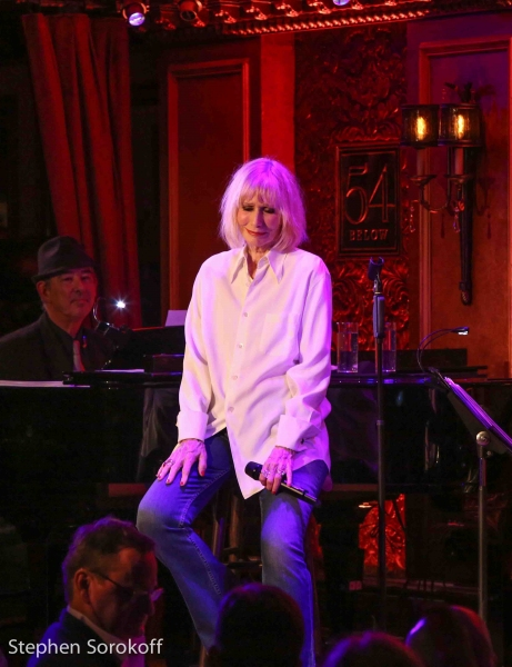 Ed Martel, music director & Sally Kellerman