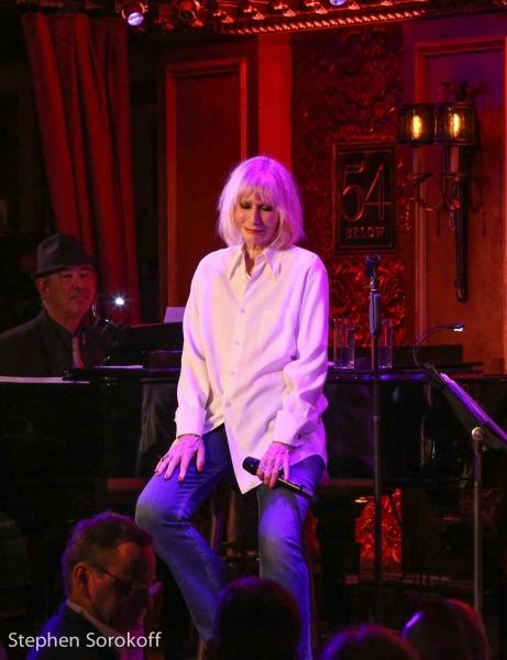 Ed Martel, music director & Sally Kellerman