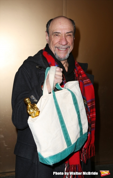 F. Murray Abraham, with his Academy Award