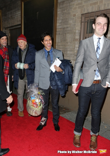 F. Murray Abraham, Terrence McNally, Maulik Pancholy, Micah Stock and the cast