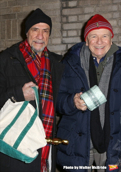 F. Murray Abraham and Terrence McNally