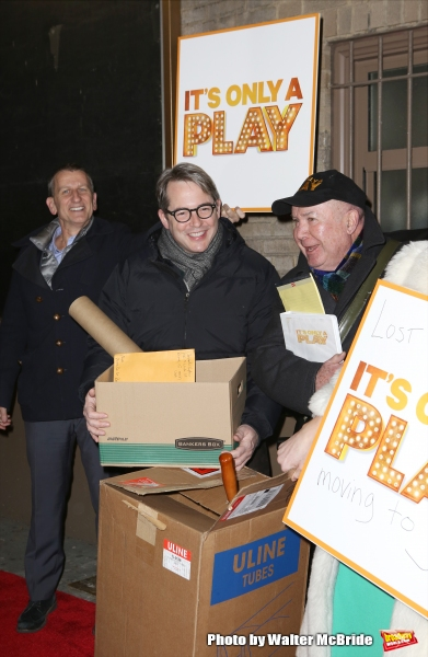 Tom Kirdahy, Matthew Broderick and Jack O''Brien