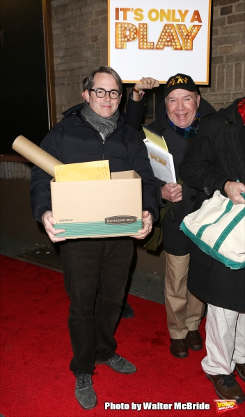 Matthew Broderick and Jack O''Brien