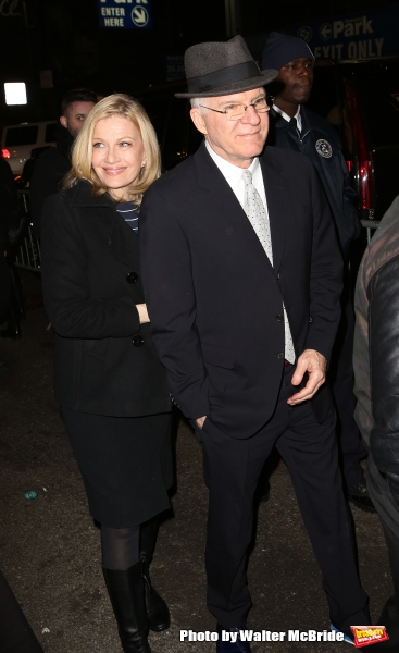 Diane Sawyer and Steve Martin