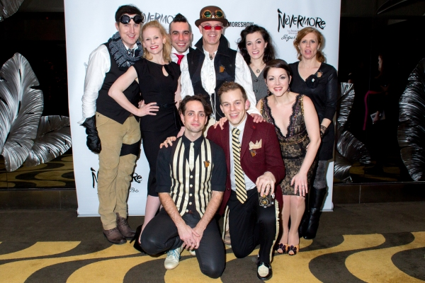 Photo Coverage: Edgar Allan Poe Comes to the Stage- Inside Opening Night of NEVERMORE!