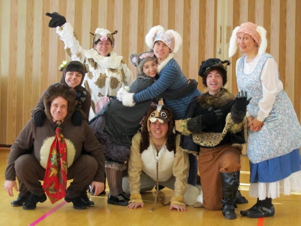 Photo Flash: First Look at the Cast of Highland Park Players' GOODNIGHT MOON