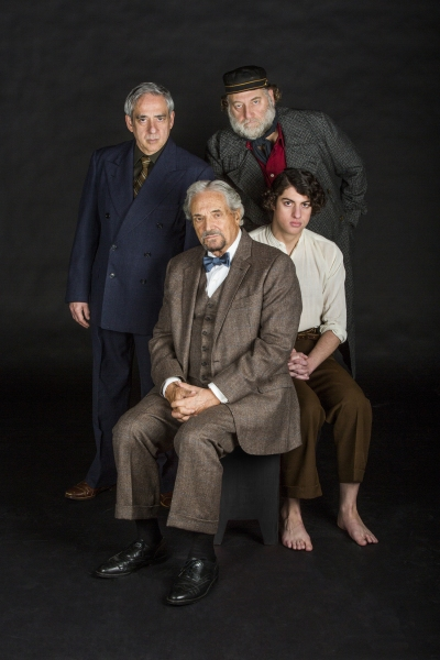 Robert Dorfman appears as Vasily Korinsky, Hal Linden as Yevgeny Zunser, Ron Orbach as Moishe Bretzky, and Eli Gelb as Pinchas Pelovits