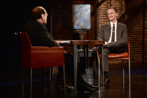 "INSIDE THE ACTORS STUDIO -- ""Neil Patrick Harris"" -- Pictured: (l-r) James Lipton, Neil Patrick Harris -- (Photo by: Behar Anthony/Bravo)"