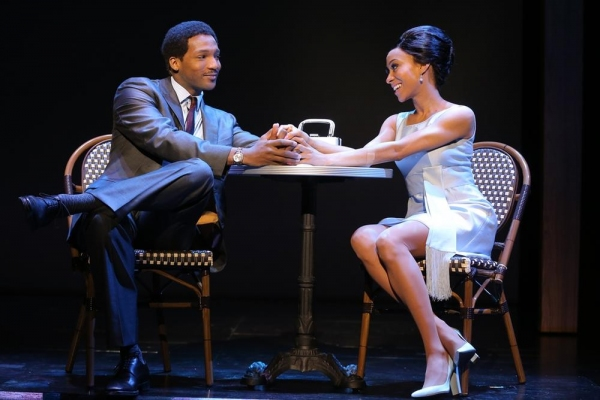 Clifton Oliver as Berry Gordy, Allison Semmes as Diana Ross Photo