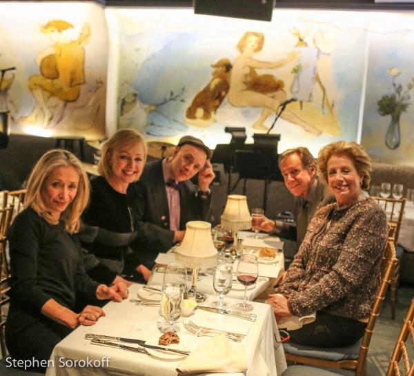 Eda Sorokoff, Maria von Nicolai, Will Friedwald, Bill Boggs, Lady Jane Rothchild