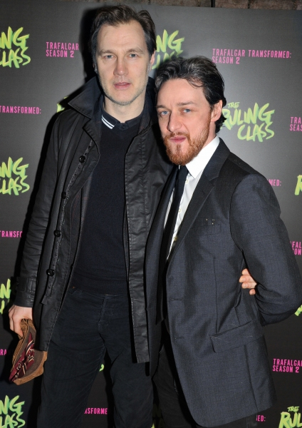 David Morrissey and James McAvoy