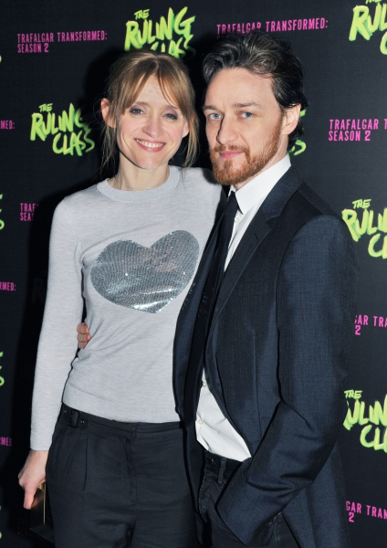 Anne-Marie Duff, James McAvoy
