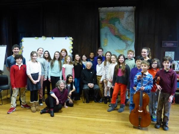 Sheldon Harnick, Elisabeth Morrow School Faculty & Students
