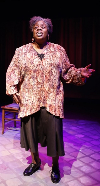 Photo Flash: First Look at Lillias White & Scott Wakefield in York Theatre Company's TEXAS IN PARIS