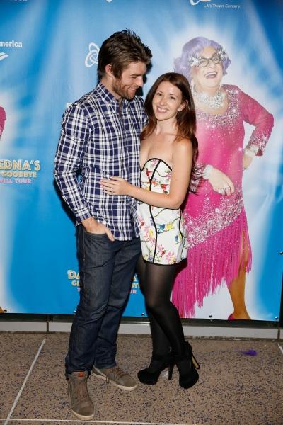 Actors Liam McIntyre and Erin Hasan McIntyre
