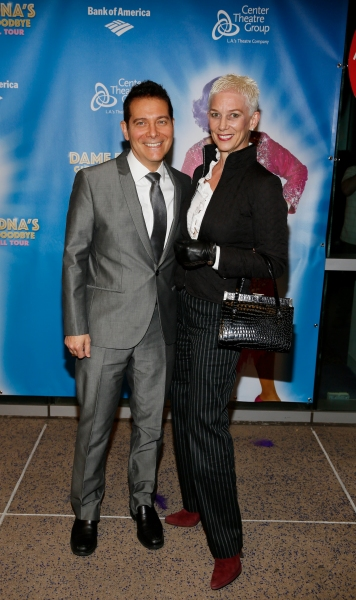 Composer Michael Feinstein and Patricia Ward Kelly
