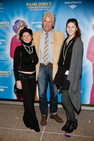 Photo Flash: Pierce Brosnan, Anjelica Huston, Michael Feinstein and More Celebrate Dame Edna's GLORIOUS GOODBYE Opening in L.A.