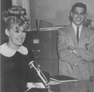 Ellis Nassour with Connie Stevens Photo
