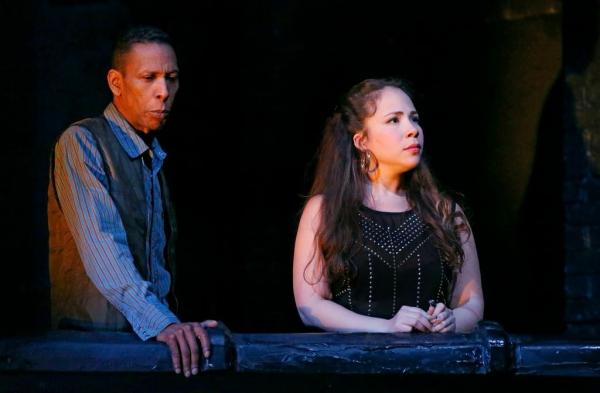 Ron Cephas Jones and Rosal Colon