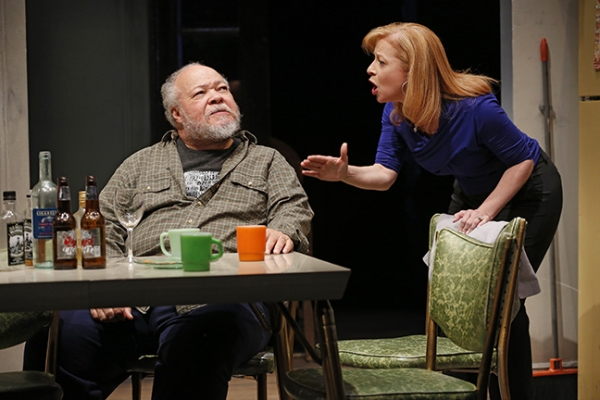 Photo Flash: First Look at Second Stage's BETWEEN RIVERSIDE AND CRAZY