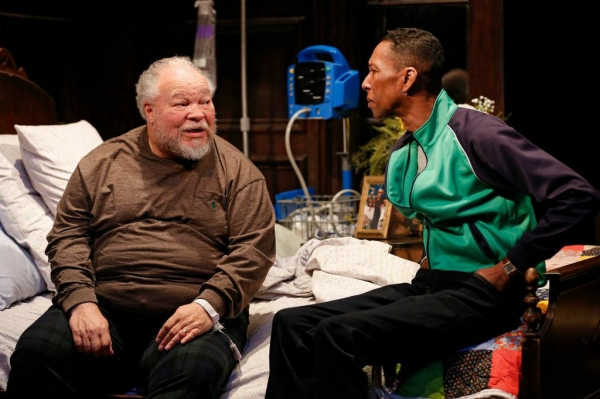 Stephen McKinley Henderson and Ron Cephas Jones