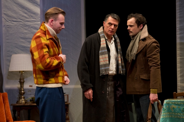 Timothy Hassler, Robert Cuccioli and Stephen Plunkett