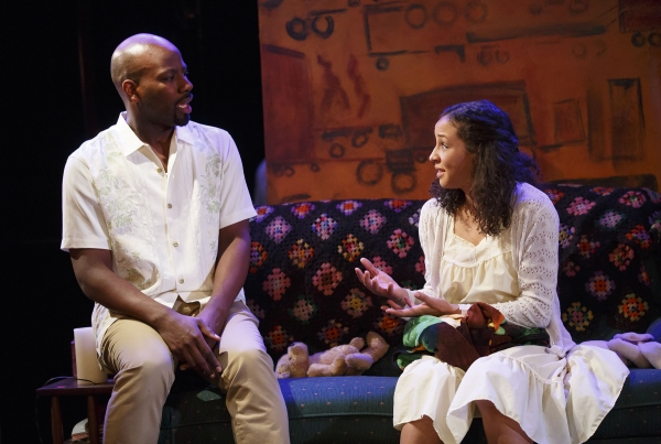 Maurice Jones (Joel) and Carra Patterson (Sula)