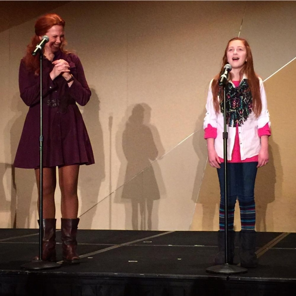 Carolee Carmello and Sarah Lewis perform from TUCK EVERLASTING