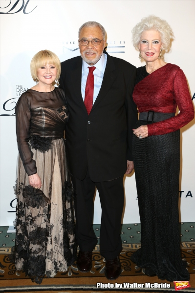 James Earl Jones and wife Ceclia Hart with Jano Herbosch