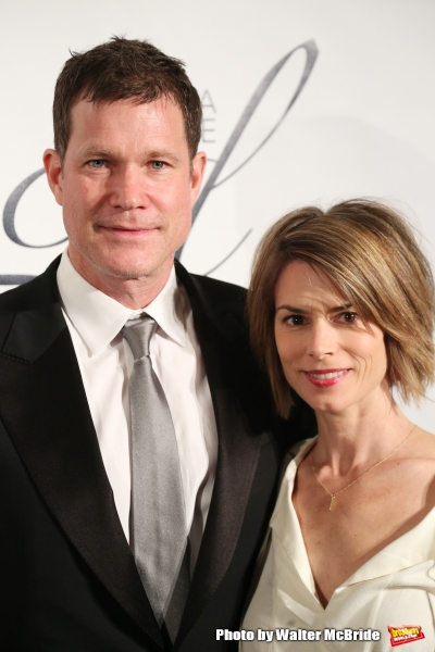 Dylan Walsh and Leslie Bourque